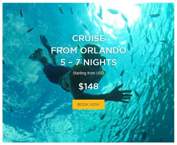 Cruise From Orlando 5 - 7 Nights