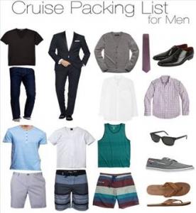Men cruise wear