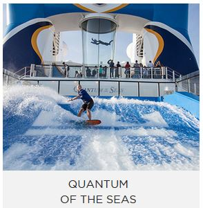 quantum of the seas. There's only one word that can possibly sum up Quantum of the Seas®: WOW.
