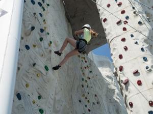 Thrill of Rock Climbing